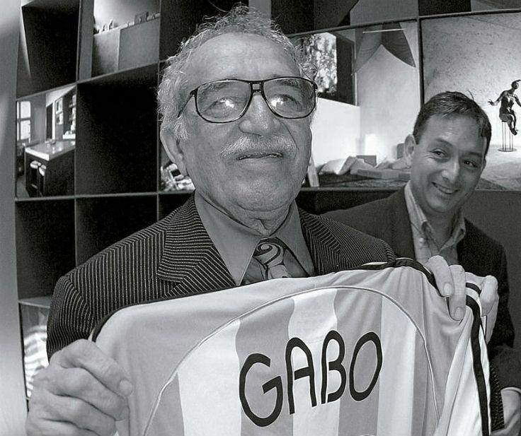 García Márquez en el estadio