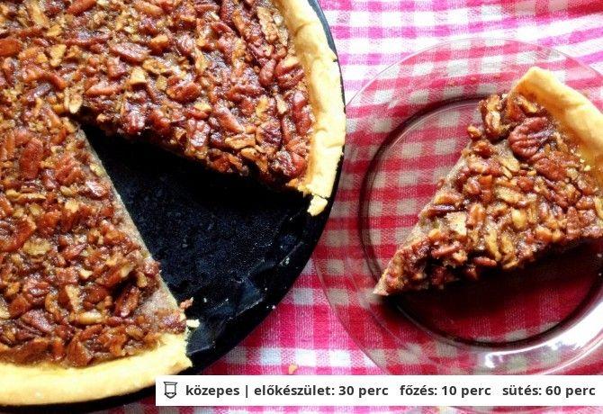 Pekándiós pite