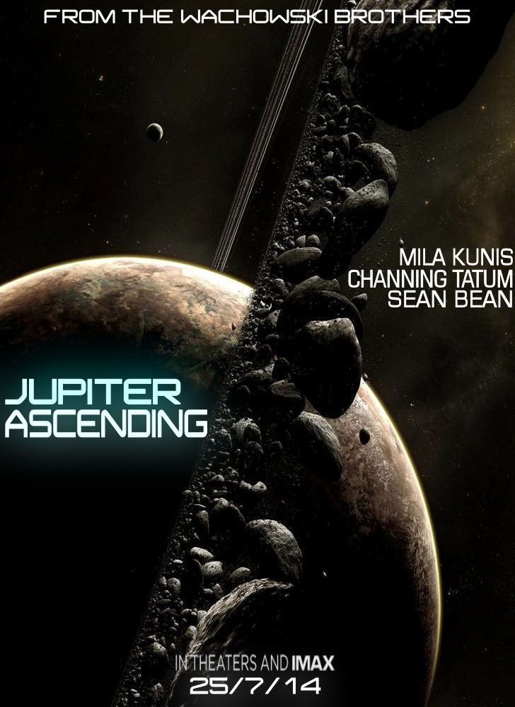 Jupiter Ascending trailer : Jupiter Ascending The new Jupiter Ascending Trailer is here and it actually looks like it might be pretty good. But as it is impossible to tell how good a film is from a trailer these days, I will reserve judgement. (I'm looking at you, Burton'sPlanet of the Apes,and the Wachowski's Matrix 2 & 3, and, obviously, Prometheus.) This could be a good trailer for a good film. Just try and ignore the pointy ears thing. Enjoy.