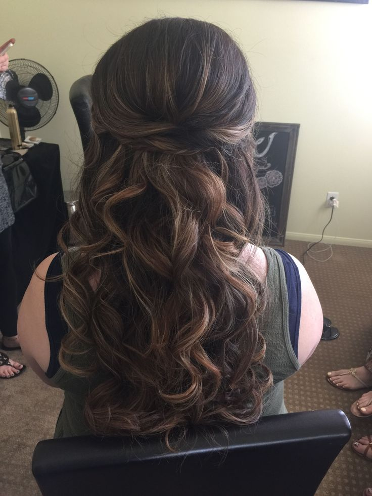 Astounding 1000 Ideas About Homecoming Hair Down On Pinterest Medium Hairstyles For Men Maxibearus