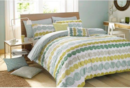 Products - Designer Brands - Lotta Jansdotter Bergen Double Quilt Cover   Betta Living