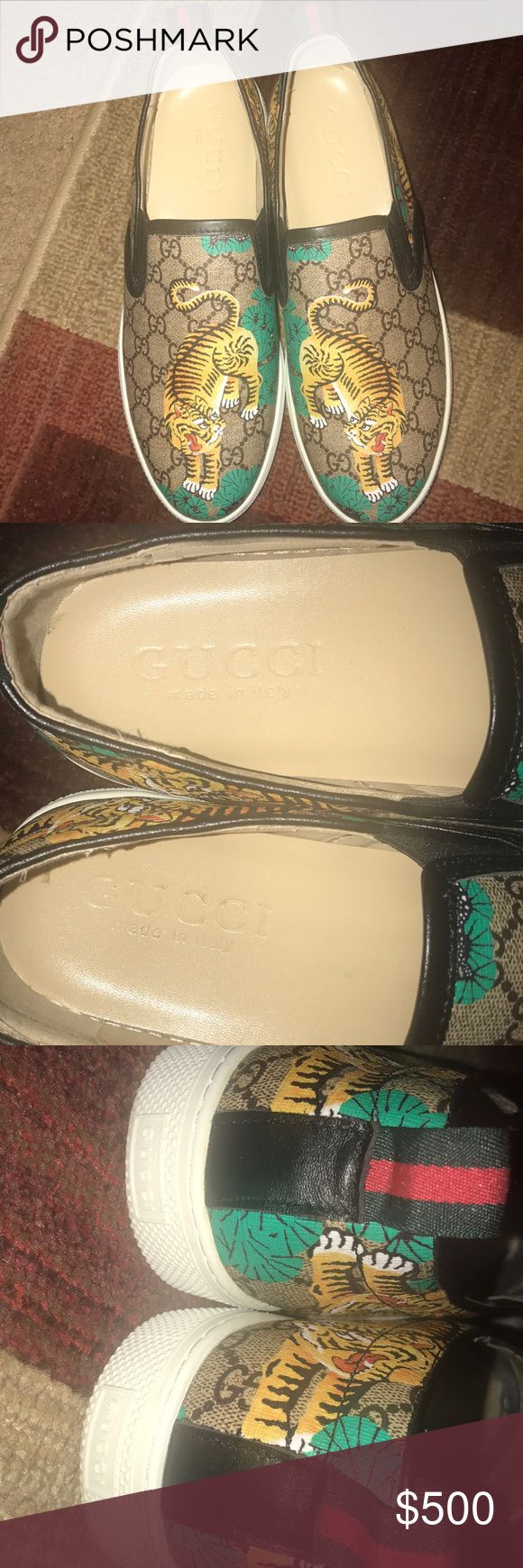 gucci dublin slip ons good condition Gucci Shoes Loafers & Slip-Ons