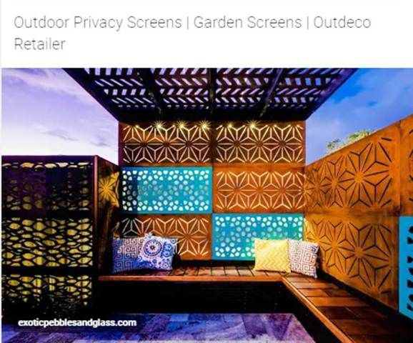 http://www.exoticpebblesandglass.com/outdoor-privacy-panels/   Outdoor Privacy Panels and Garden Screens - 2017 Guide   The best outdoor privacy panels and garden screens for your yard guide. Great collection here of ideas.