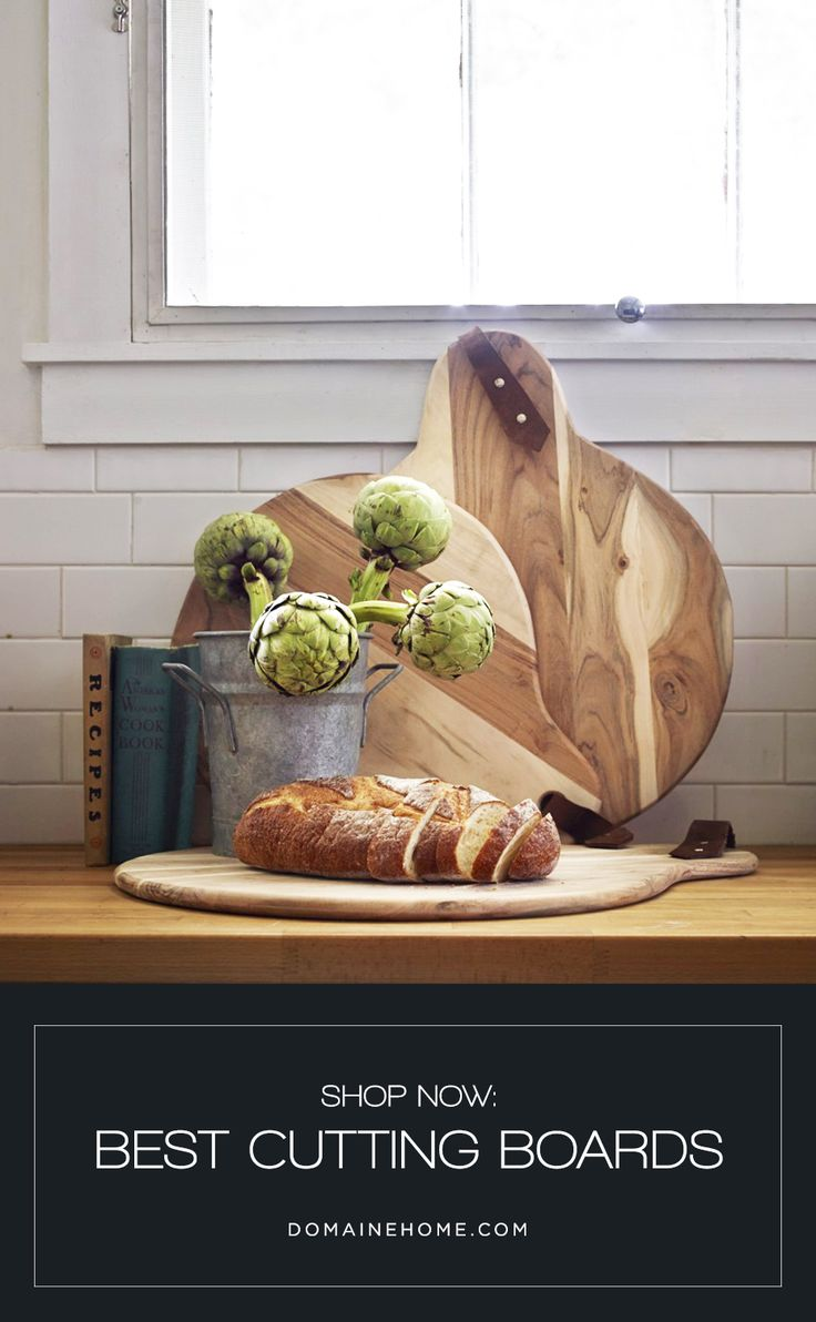 Chop in Style: The 9 Best Cutting Boards // The market's best crop of chopping boards, featuring wooden and marble styles.