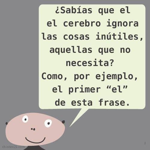 Frases, palabras, vida,español  cerebro