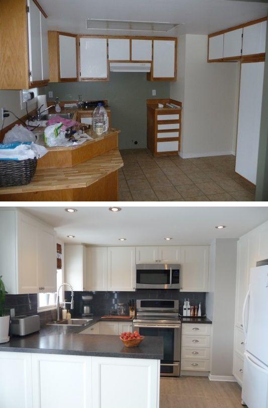 Découvrez les photos des différents projets de rénovation. http://www.cuisinesaction.com