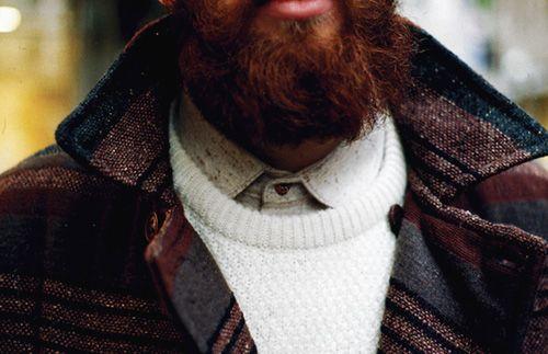 jacket/beard/perfect: Red Beards, Style, Shirts, Menswear Branding, Bears, Jackets, Collars, Yasar Cevik, Munich Menswear