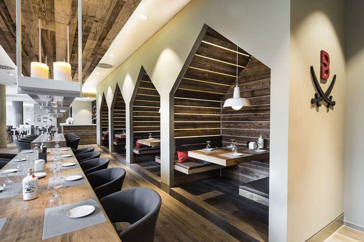 Sansibar by Breuninger restaurant by DITTEL   ARCHITEKTEN, Düsseldorf