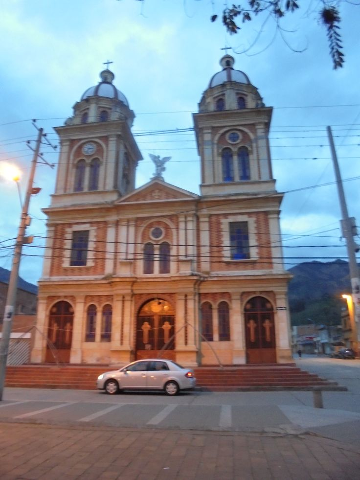 Iglesia de Cajamarca, Tolima, Colombia. Diciembre del 2015.