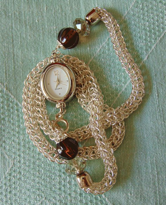 Orologio bracciale chainmail 2