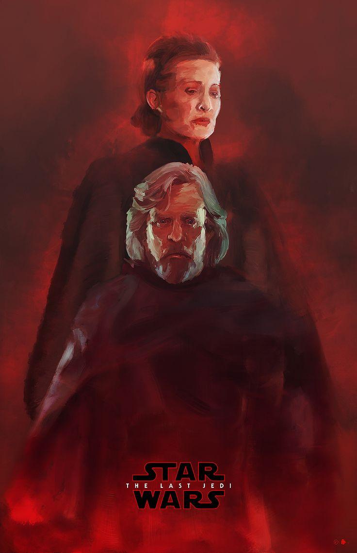 Star Wars: The Last Jedi I Movie Poster I Rafal Rola