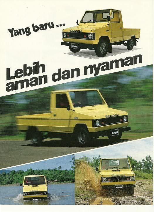 Toyota Kijang Buaya - 1977