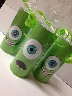 Monstruos S.A. con tubos de cartón #Creando