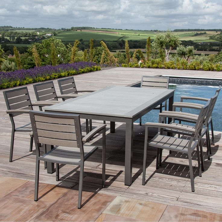 Sys Teak 8 seater walnut jpg  1600 1600  Teak Garden FurnitureDining  55 best Outdoor dining images on Pinterest   Outdoor dining  Teak  . Kettler Bretagne 8 Seater Outdoor Dining Table. Home Design Ideas