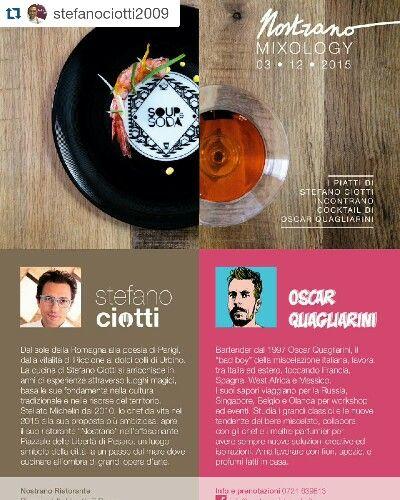 Longplate at Nostrano Restaurant, Pesaro - Mixology stefano ciotti + oscar quagliarini #longplate #mixology