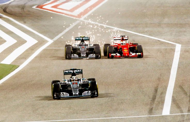 f1-grand-prix:  Nico vs Vettel