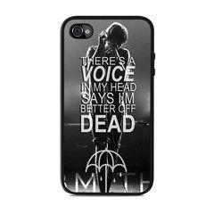BMTH Band Lyric Quote Iphone 4 / 4s Cases