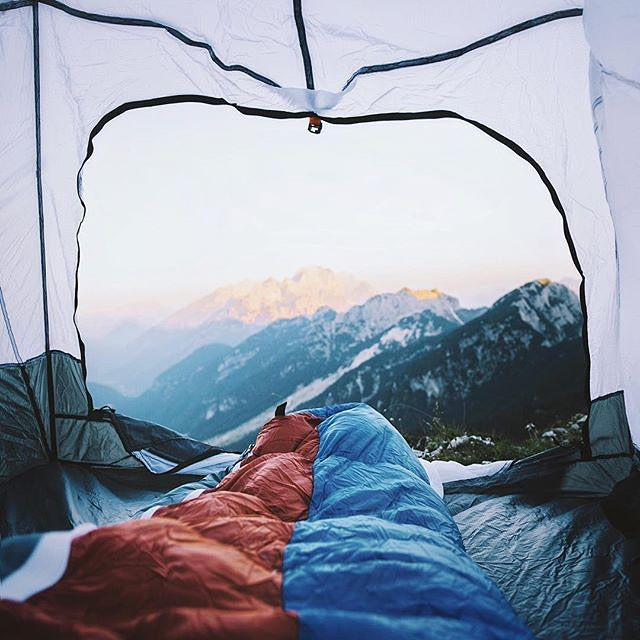 6:00am in the Julian Alps, Slovenia By @alexstrohl