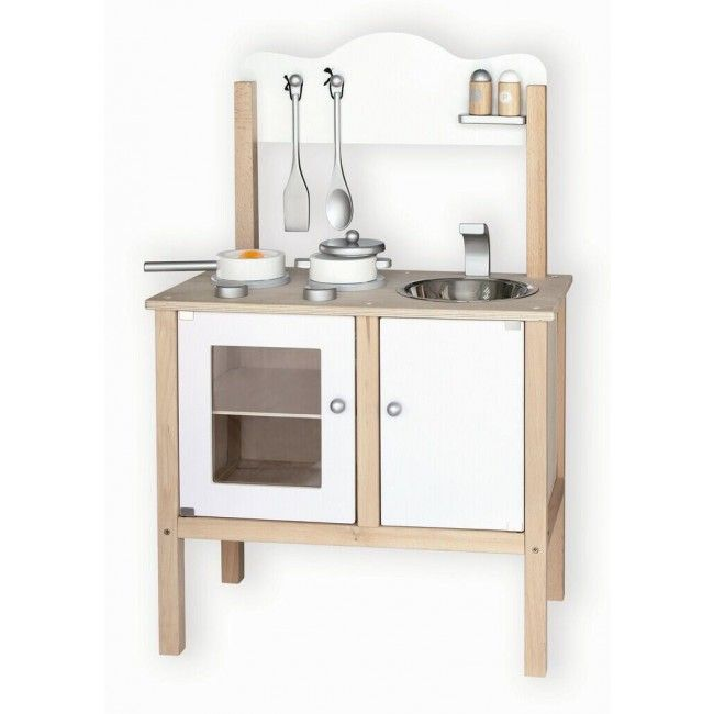 We spotted this lovely wooden kitchen set whist walking around Toy Fair - it's sturdy, affordable and suits both boys and girls! A wonderful toy to inspire future chefs. #entropytoys #kitchen #roleplay #cook #woodentoys #toy