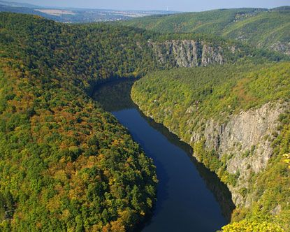 Sumava National Park, in the southeastern corner of the Czech Republic