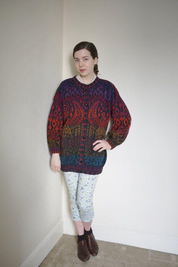 Vintage RISING PHOENIX designer knitwear by LongAfternoonVintage, £40.00