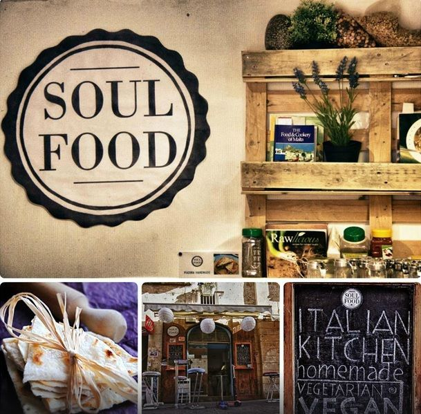 Vegan-vegetarian restaurant: Soul Food, #Valletta
