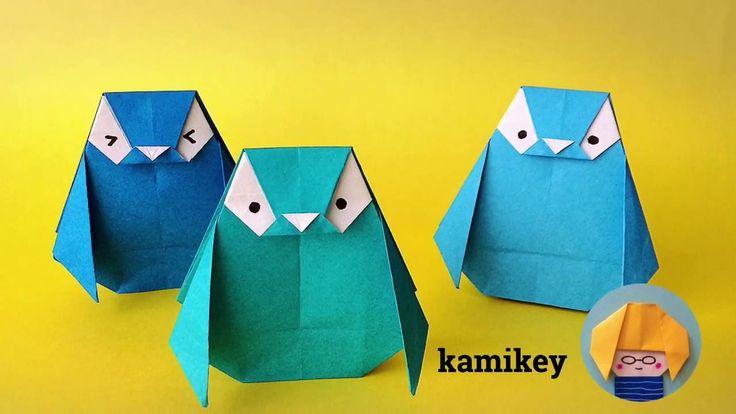 折り紙 ペンギン Penguin Origami