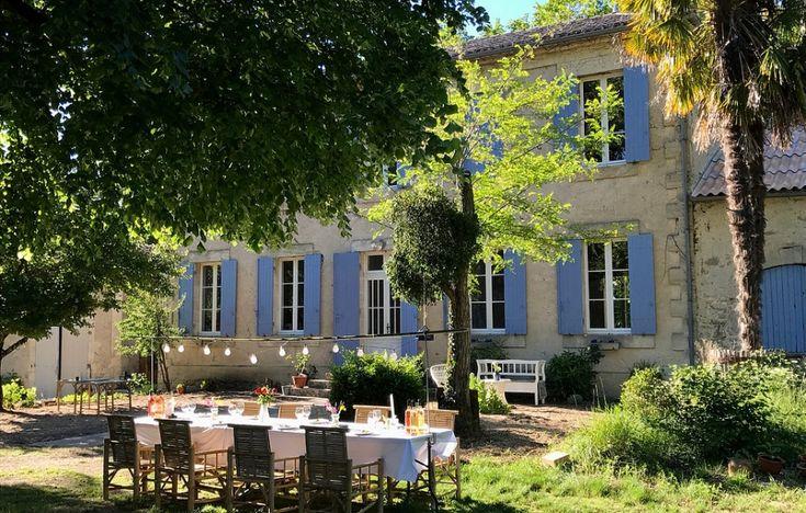 Deze heerlijke Chambres d'hôtes (Bed en Breakfast) en camping bevinden zich in het Zuid- Westen van Frankrijk op minder dan uur rijden van Bordeaux en maar een half uurtje verwijderd …