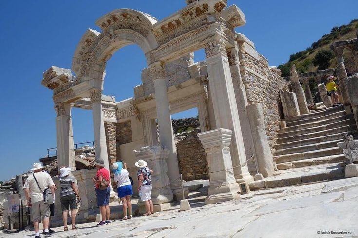 Tempel van Hadrianus in Efeze, UNESCO Werelderfgoed in Turkije
