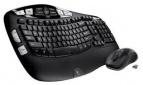 Logitech Wireless Wave Combo MK550 Keyboard & Laser Mouse $46