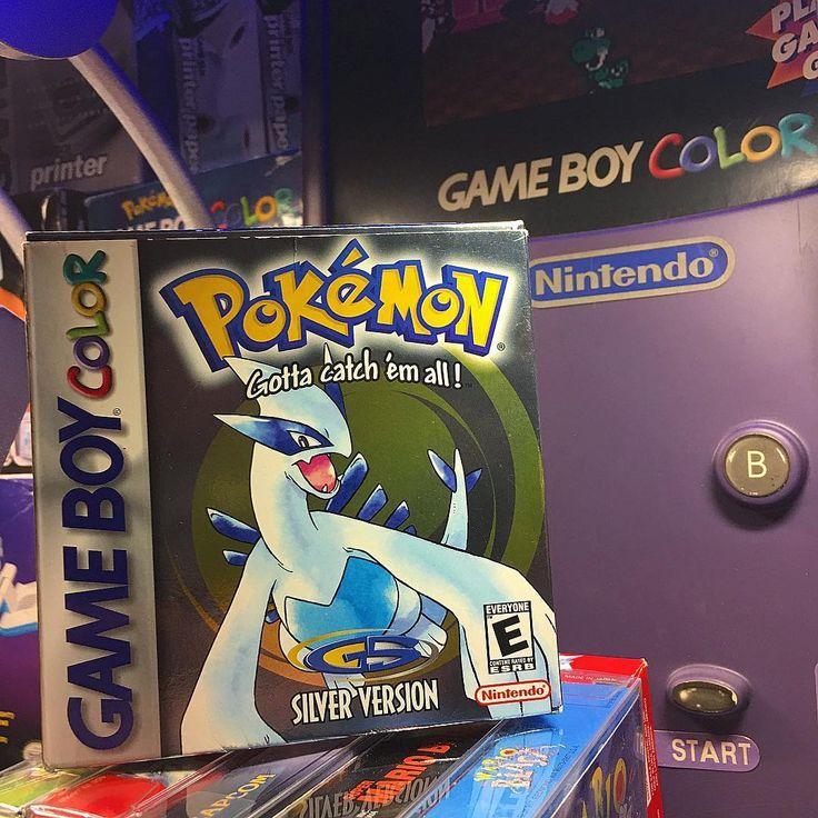 One of many Pokémon games I got from @retro_nintndo !! Did you have Pokémon gold or silver?? . . . Ig Toy page: @figuresformedthefuture  VERO: @gameboyswag . . . #igersnintendo #nintendo64 #playstation #sega #nintendo #mario #xbox #starwars #zelda #retrocollective #ps4 #pokemon #arcade #gameroom #retrocollector #retrogamer #videogame #retrogaming #awesome #geek #gamer #videogames #nerd #90s #gameboy #nintendoswitch #mancave #gamergirl #retro #spectrum