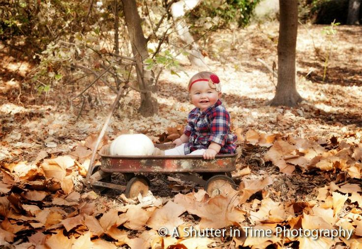 Fall Pictures Infant newborn outdoor photography ( A shutter in Time photography ) Orange County CA