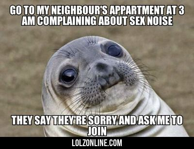 Go To My Neighbour's Apartment...#funny #lol #lolzonline