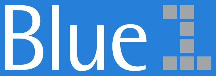 Blue1 Logo. (FINNISH).