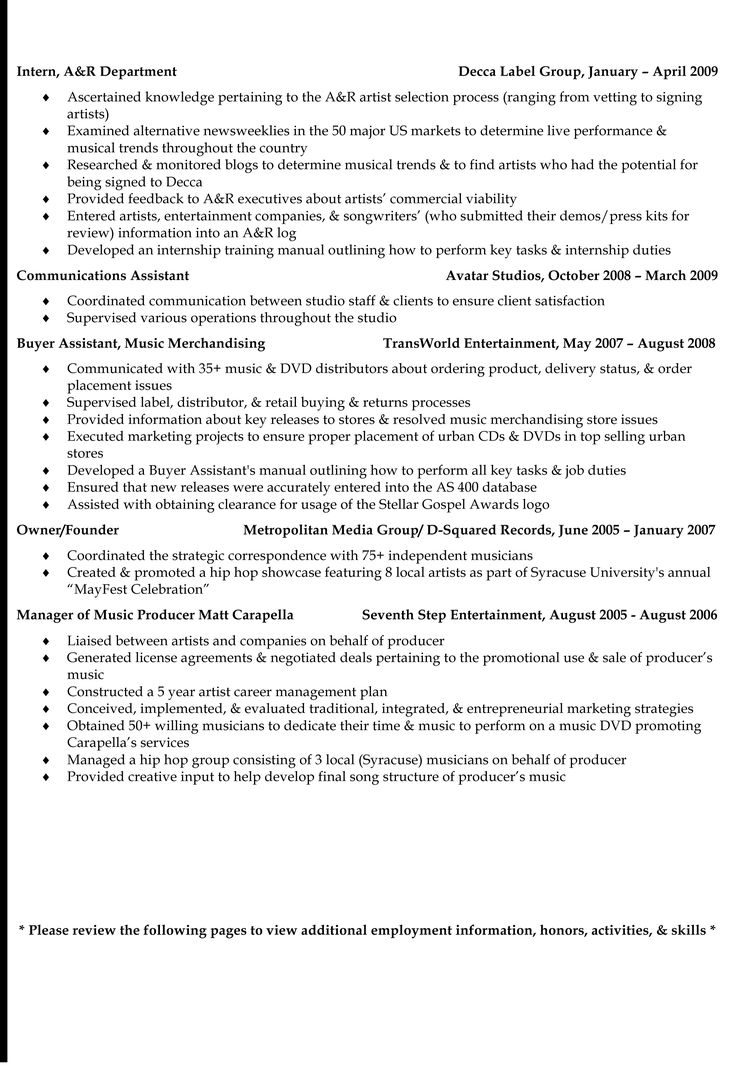 Kathryn SanoS Events  Marketing Resume  Page  Kathryn N