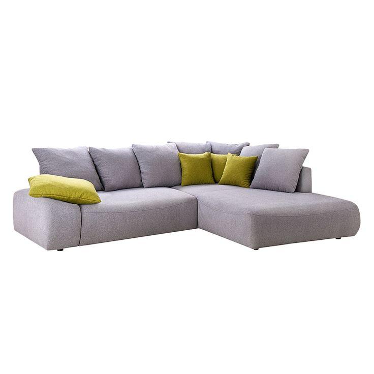 ecksofa fragola ecksofa venus mit hocker mikrofaser lila. Black Bedroom Furniture Sets. Home Design Ideas