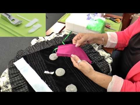 ▶ Baby Lock Serger Pintuck Foot - YouTube