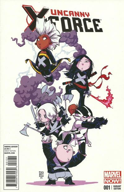 Skottie Young: Uncanny X-Force #1