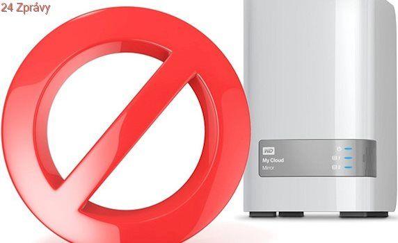 Síťové disky WD mají bezpečnostní díru, raději je odpojte od internetu