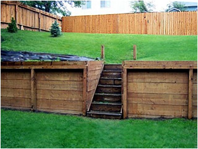 retaining walls retaining wall design block walls anchorage and eagle river alaska - Timber Retaining Wall Design