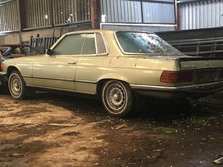 Mercedes 450SLC Barn Find SEE EBAY LISTING