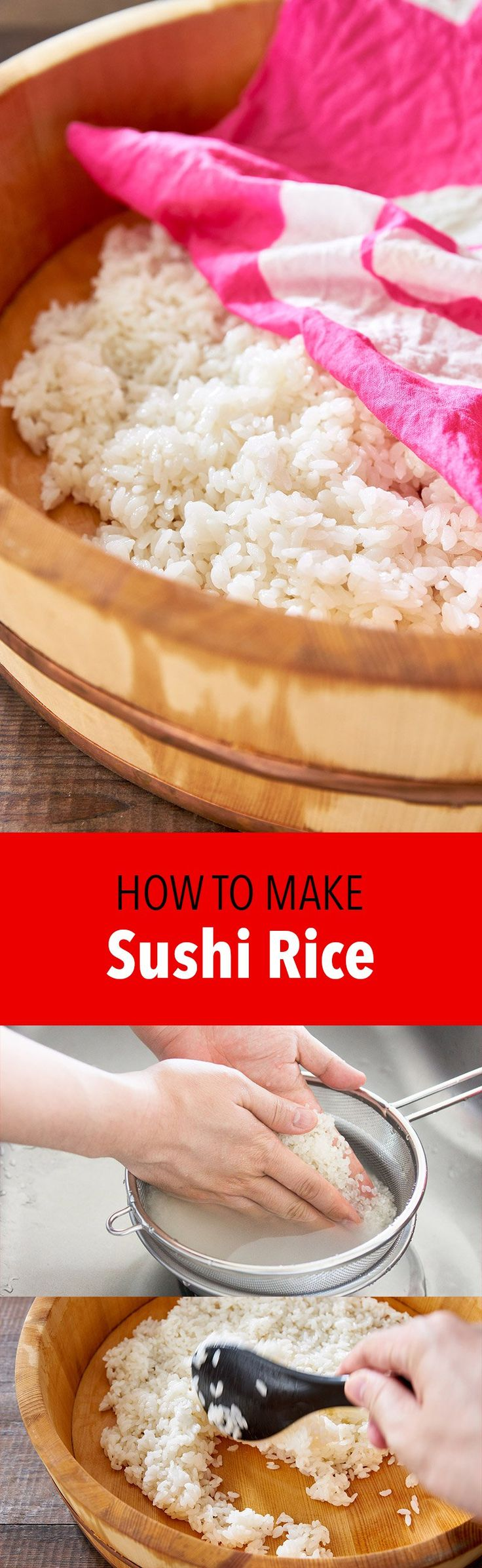 Master the art of making sushi rice with this easy tutorial. Learn my secrets for making the best authentic Japanese sushi rice from scratch.