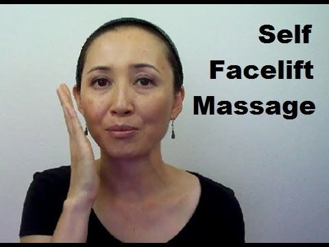 Anti-Aging Self Facelift Massage | How to Get Rid of Face Fat - Massage Monday 9-15-14 - YouTube