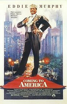 Coming to America.  I will watch while I simultaneously say every line EVERY time I watch this movie!