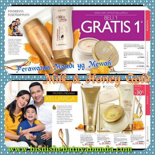 Perawatan Mandi yang Mewah, Milk & Honey Gold.. Bikin kulit tubuh dan rambut tambah lembut halus & nutrisi