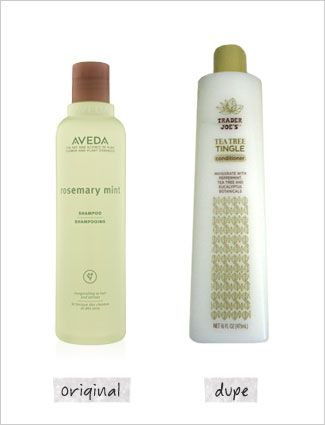 I love the Aveda shampoo, will definitely have to try the Trader Joes version!