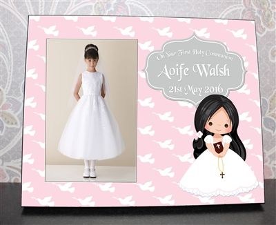 Personalised Communion Picture Frame creates a lasting reflection of the day for years to come. €29.99 | WowWee.ie