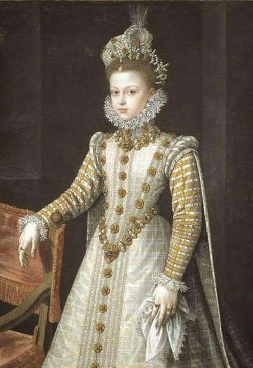 historia del traje: 17. Traje cortesano español 1550-1625