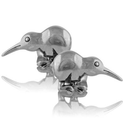 Silver & Some - Evolve - Earrings & Cufflinks, Kiwi Studs