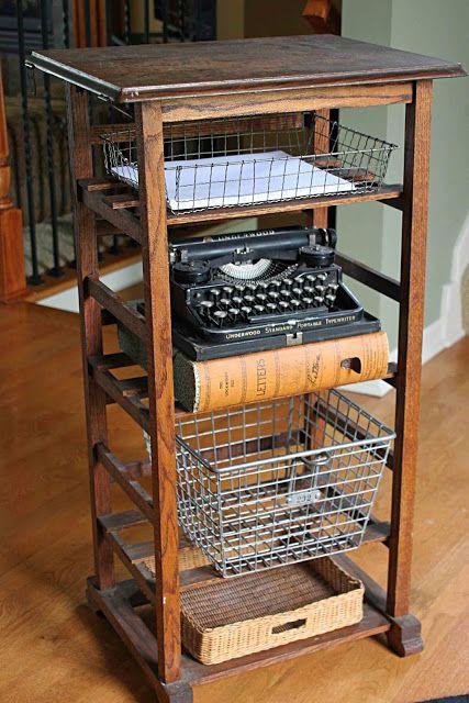Best 25 Printer Stand Ideas On Pinterest School Desk